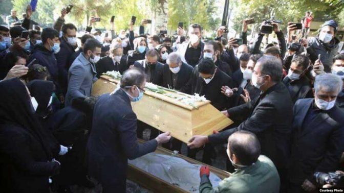 استاد محمدرضا شجریان به خاک سپرده شد