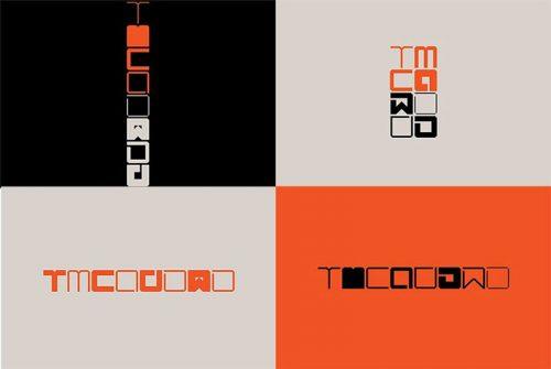 نشان طراحی شده توسط رضا عابرینی برای موزه هنرهای معاصر تهران