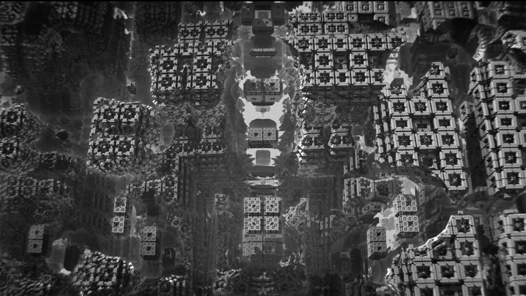 طبیعت فراکتال؛ درباره گلیچ ویدئوآرت های دیوفانگ