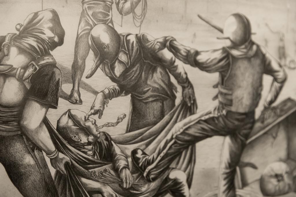 خرده روایت خیال؛ درباره نمایشگاه لانه مردی با چشمان تهی پیام قلیچی