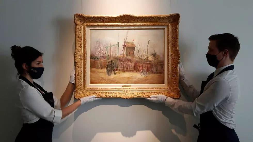 حراج تابلوی نقاشی صدساله از ونسان ون گوگ