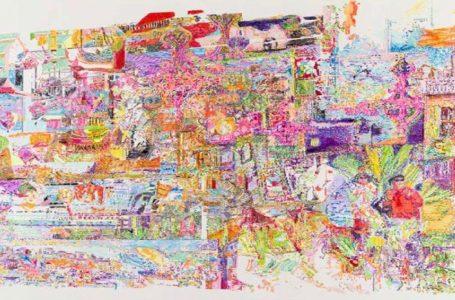 اشتراک خاطرات رنگین؛ درباره نمایشگاه اختلال خاطره ترلان تبار