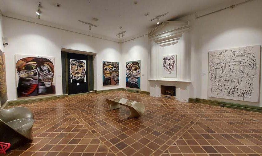 بازدید مجازی از نمایشگاه آثار حمید هادی نژاد در آرت سنتر