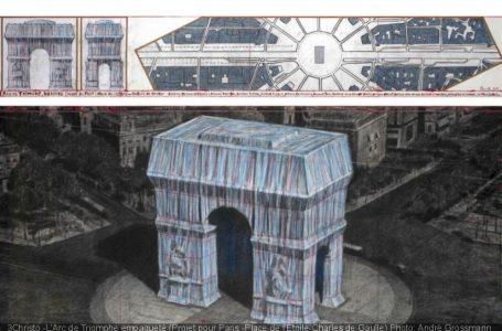 حراج نقشههای اولیه لفاف پیچی توسط کریستو و ژان کلود