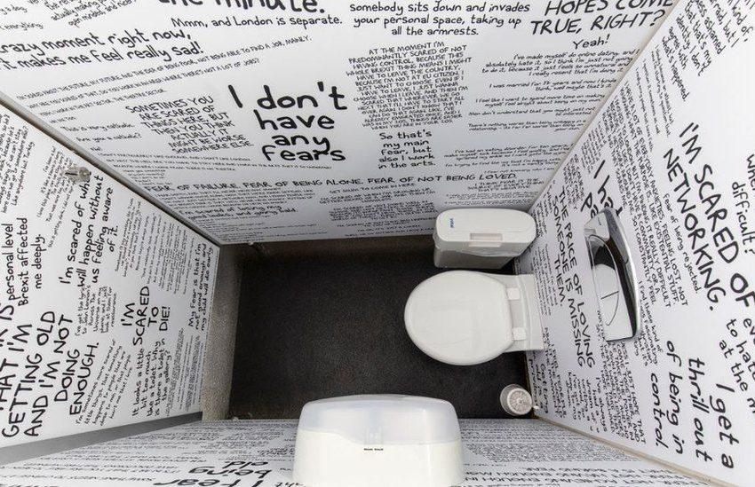 جشنواره هنری در توالت های اروپا