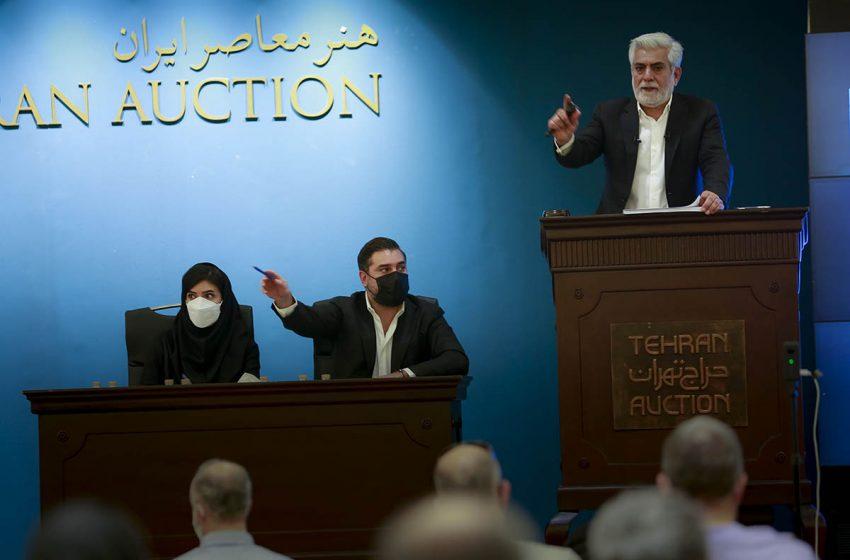 چهاردهمین دوره حراج تهران پایان یافت