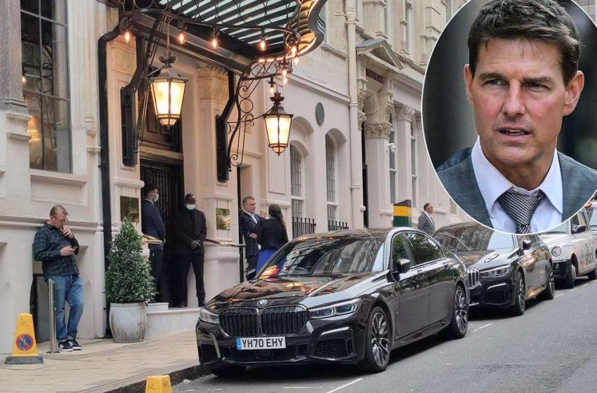 خودروی تام کروز هنگام فیلمبرداری دزدیده شد